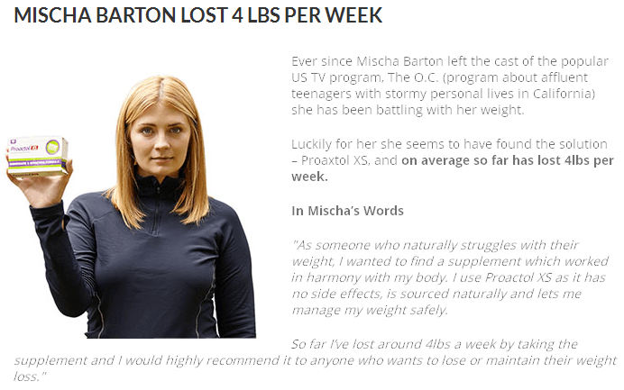 mischa barton weight loss